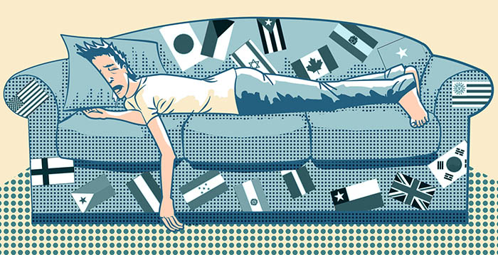 Couchsurfing by Osvaldo Montero via Flickr Creative Commons