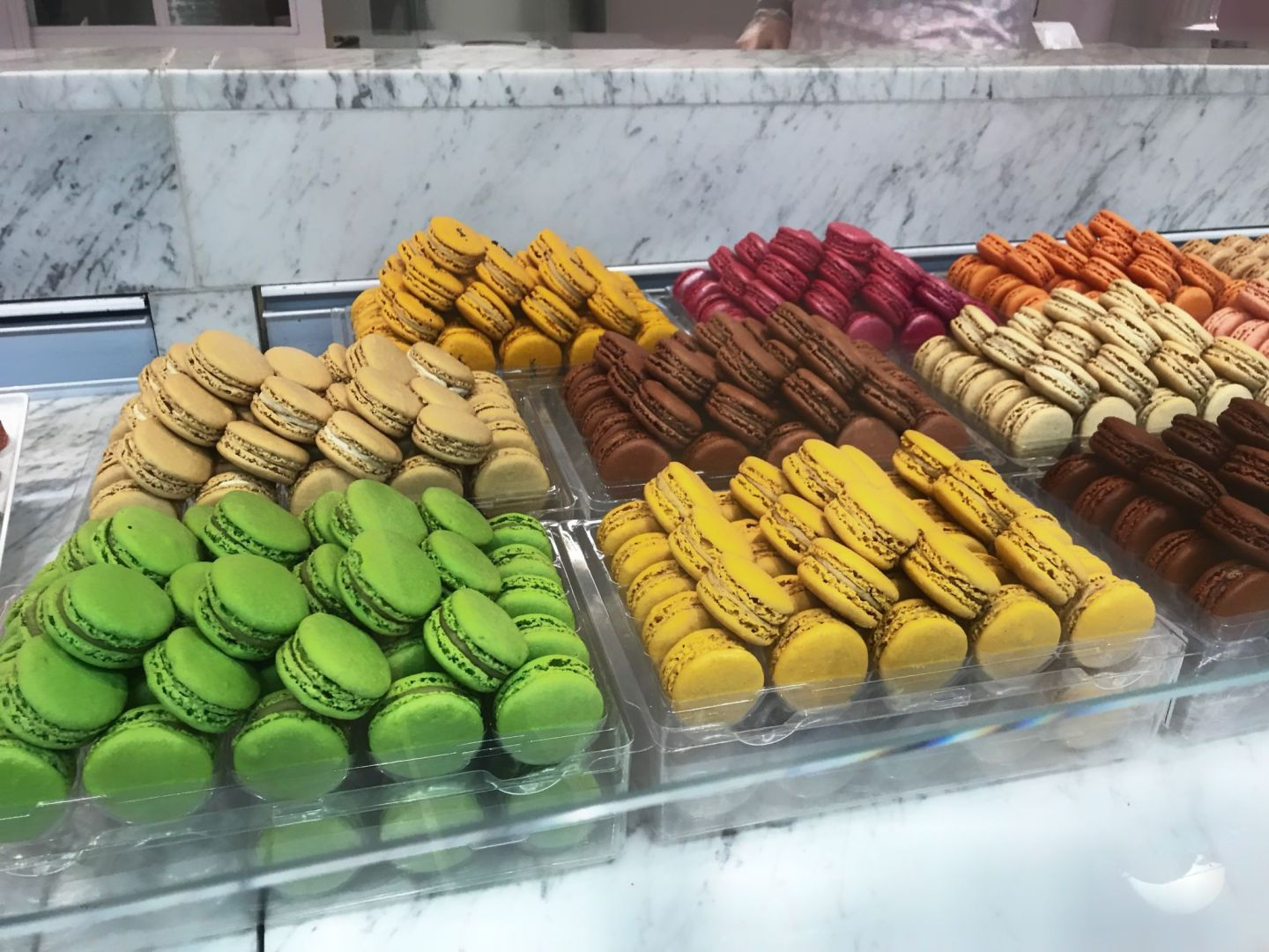 Colourful Assortment of French Macaroons