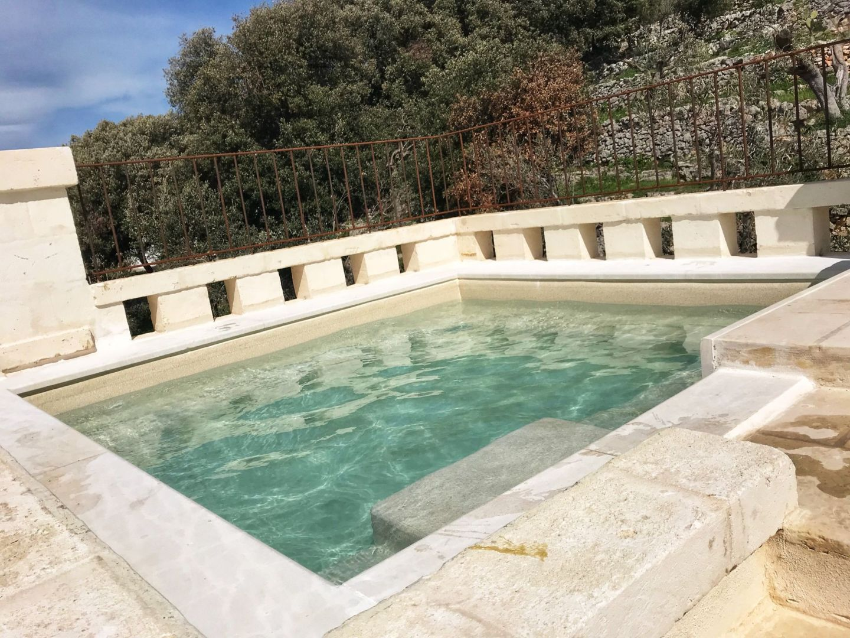 Corte dei Massapi villa hot tub