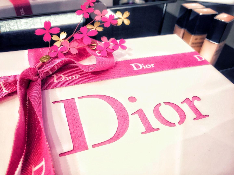 Dior Blogger Event gift box