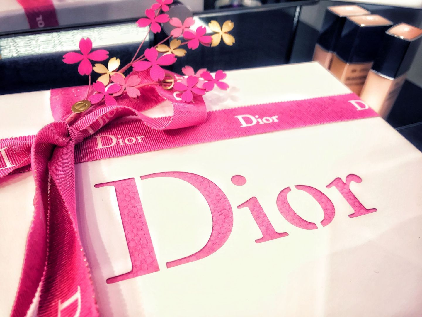 Dior Blogger Event gift box