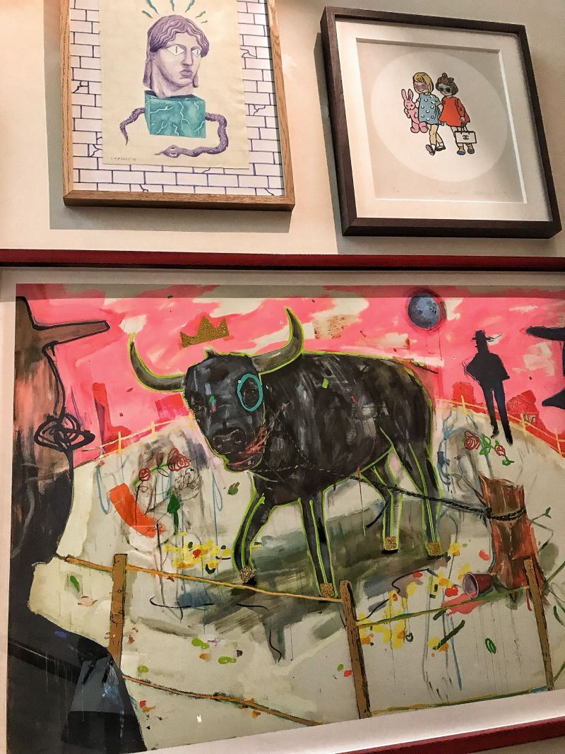 Hoxton Hotel Paris Art Work