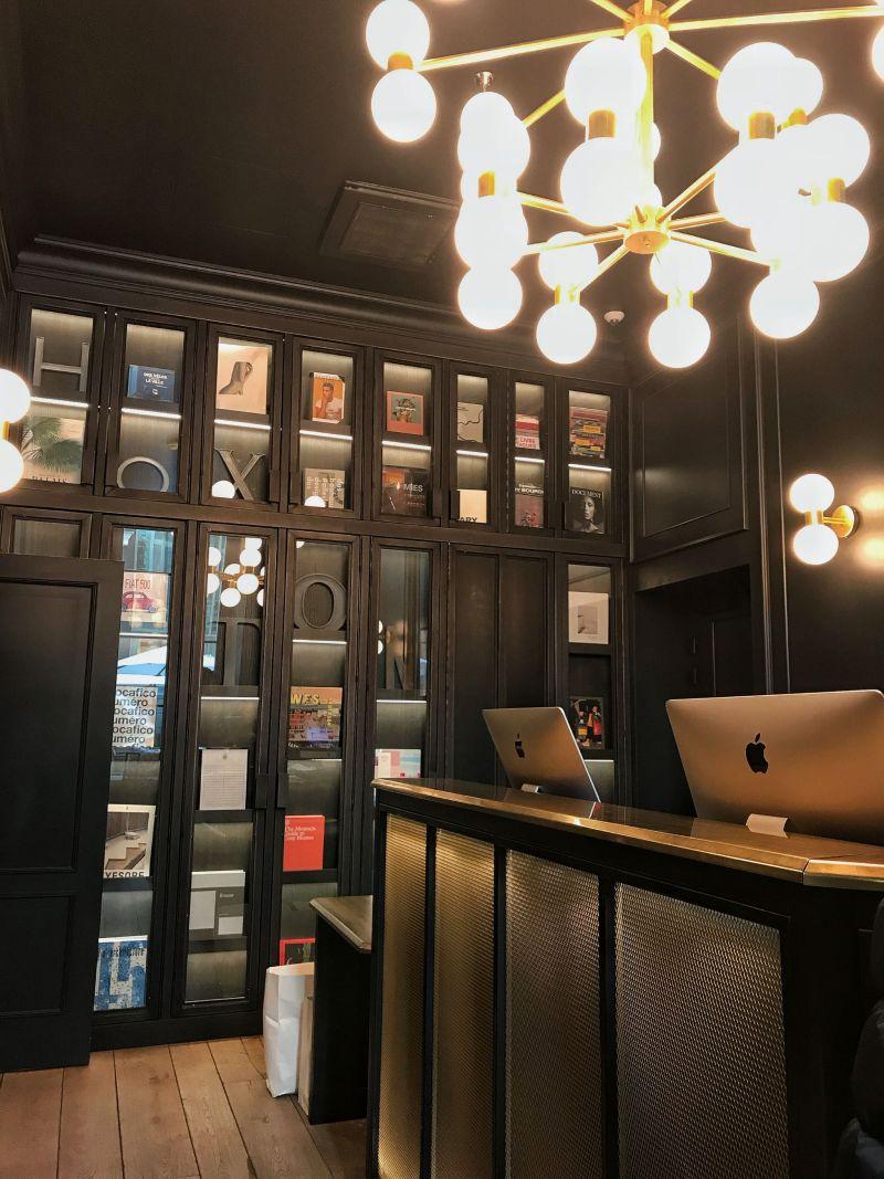 Hoxton Hotel Paris Reception Area