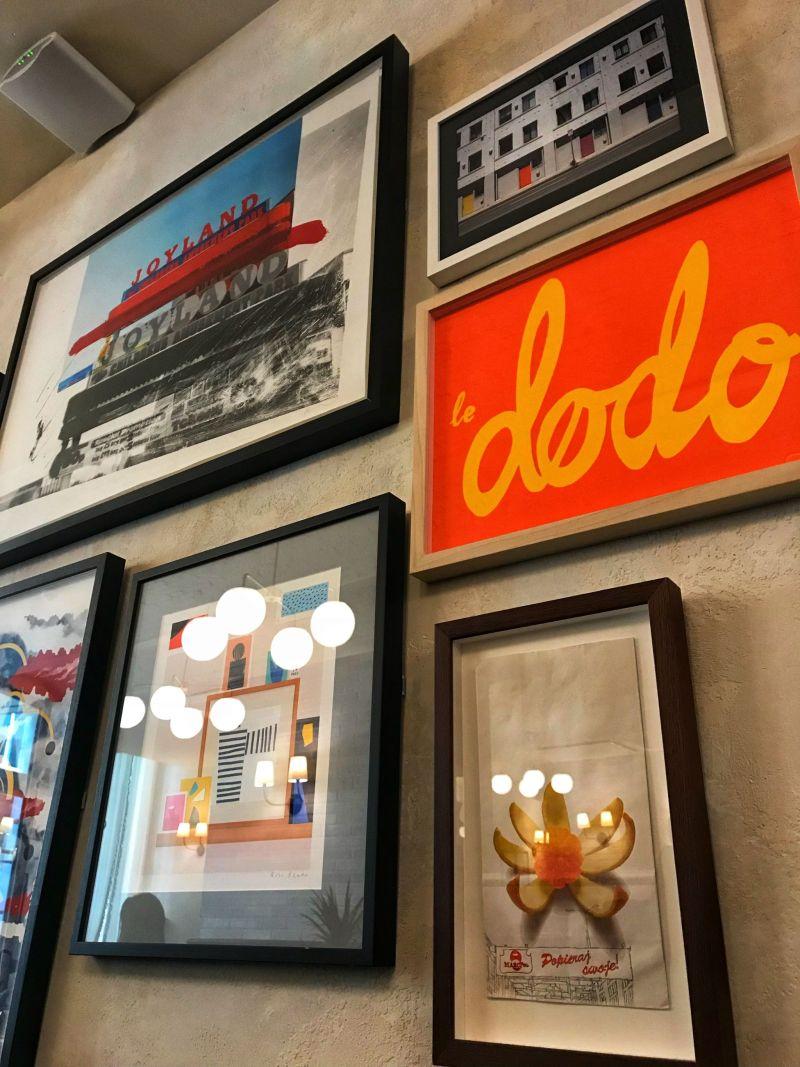Hoxton Hotel Paris Rivie Restaurant Art work