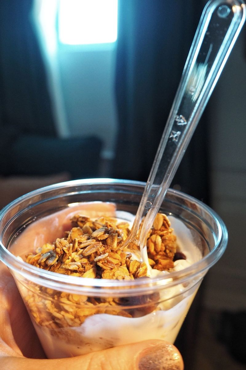Hoxton Hotel Paris Yogurt granola breakfast