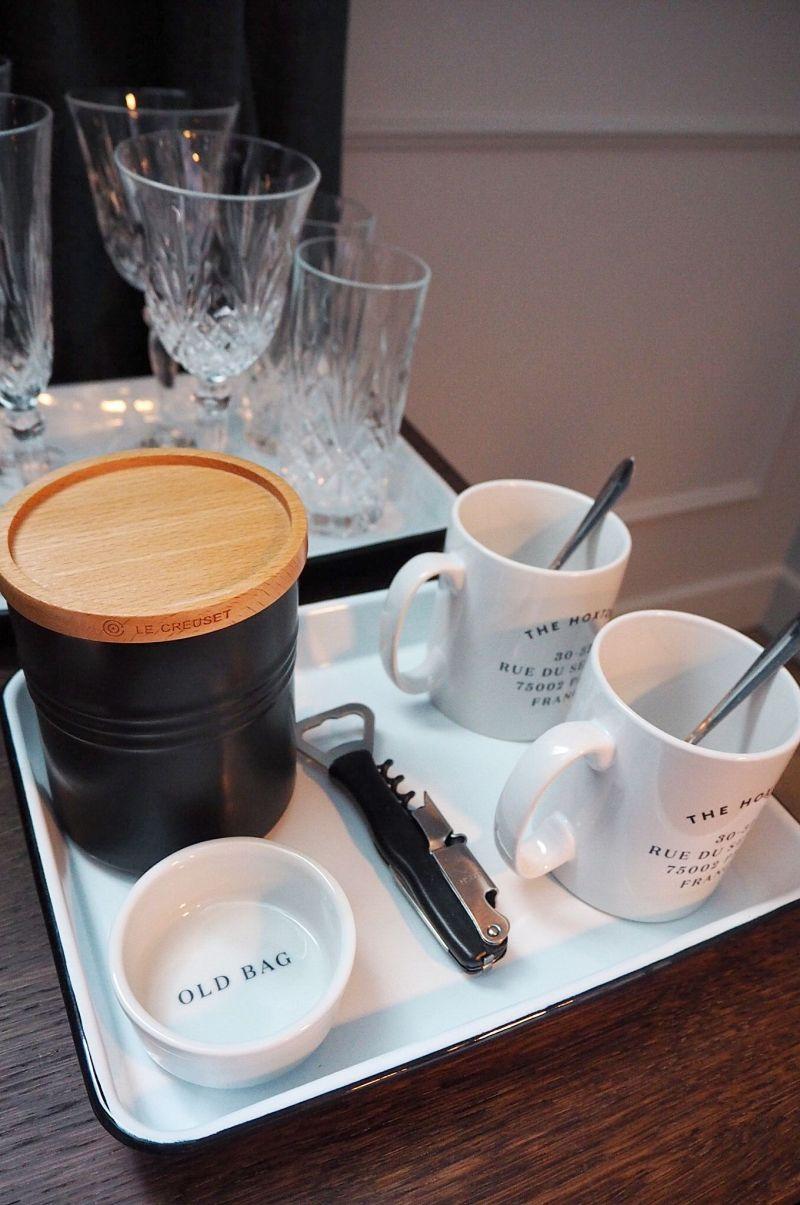Hoxton Paris Old Bag Tea set