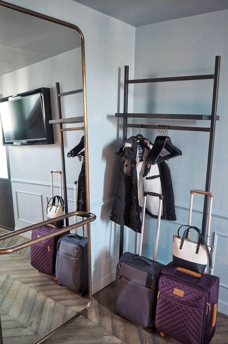 Hoxton Hotel Paris Open Wardrobe