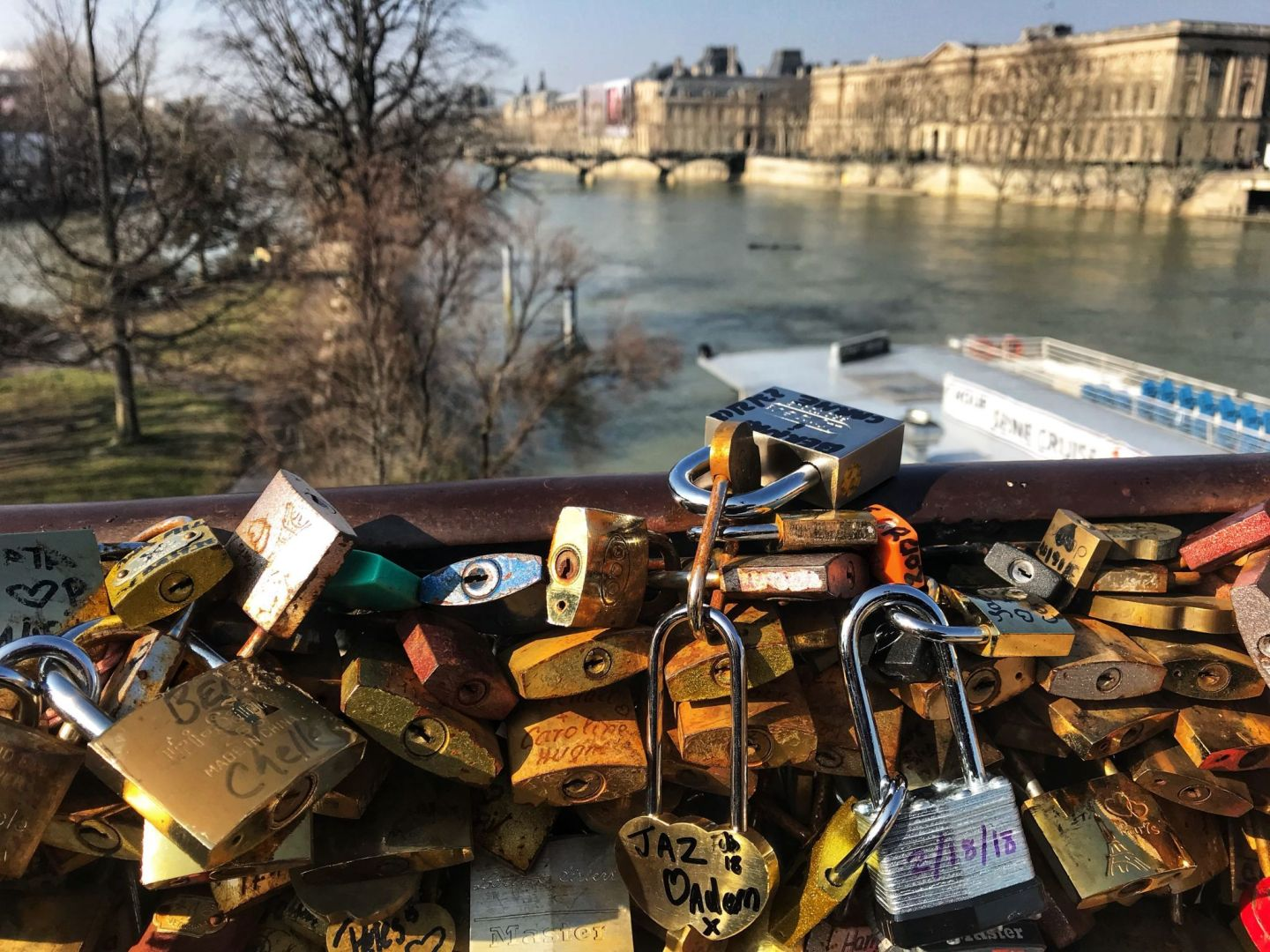 Love Lock Pont Neuf Paris