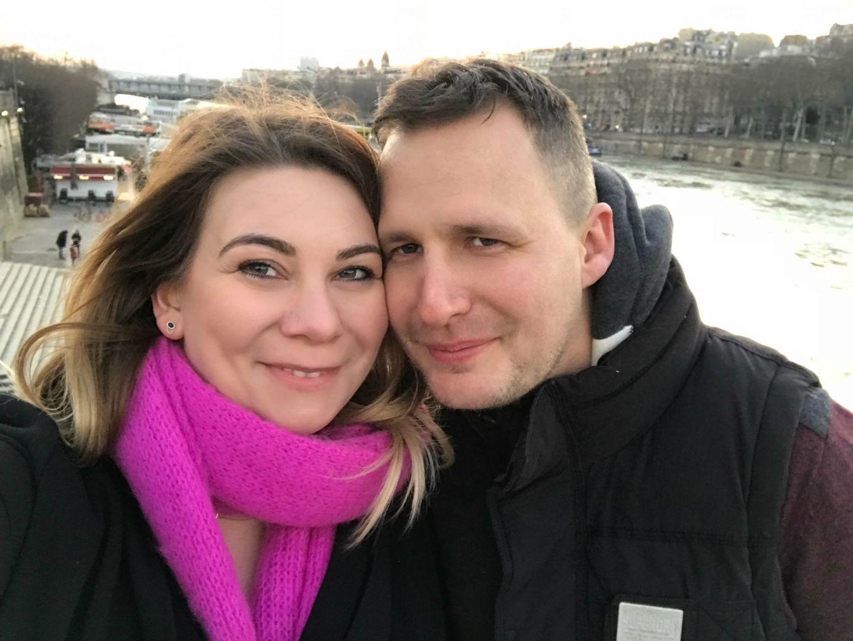 Me & Adam in Paris Feb 2018