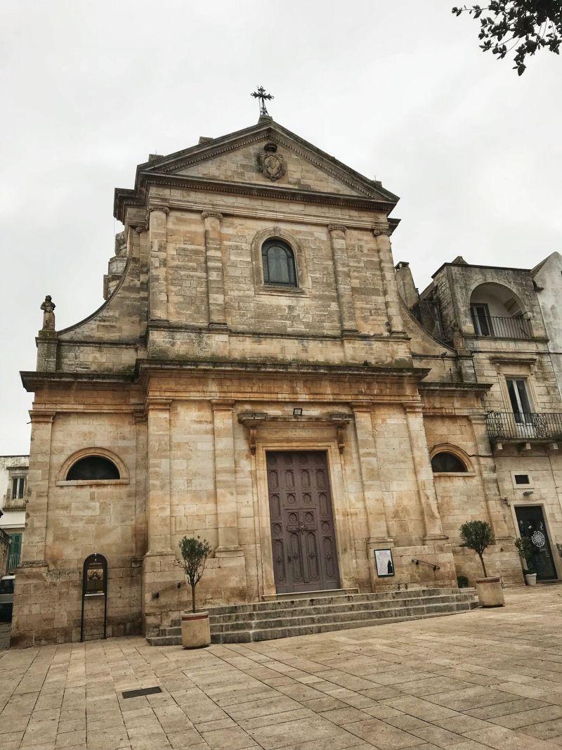 Chiesa Madre di San Giorgio Martire Church of Locorotondo Italy