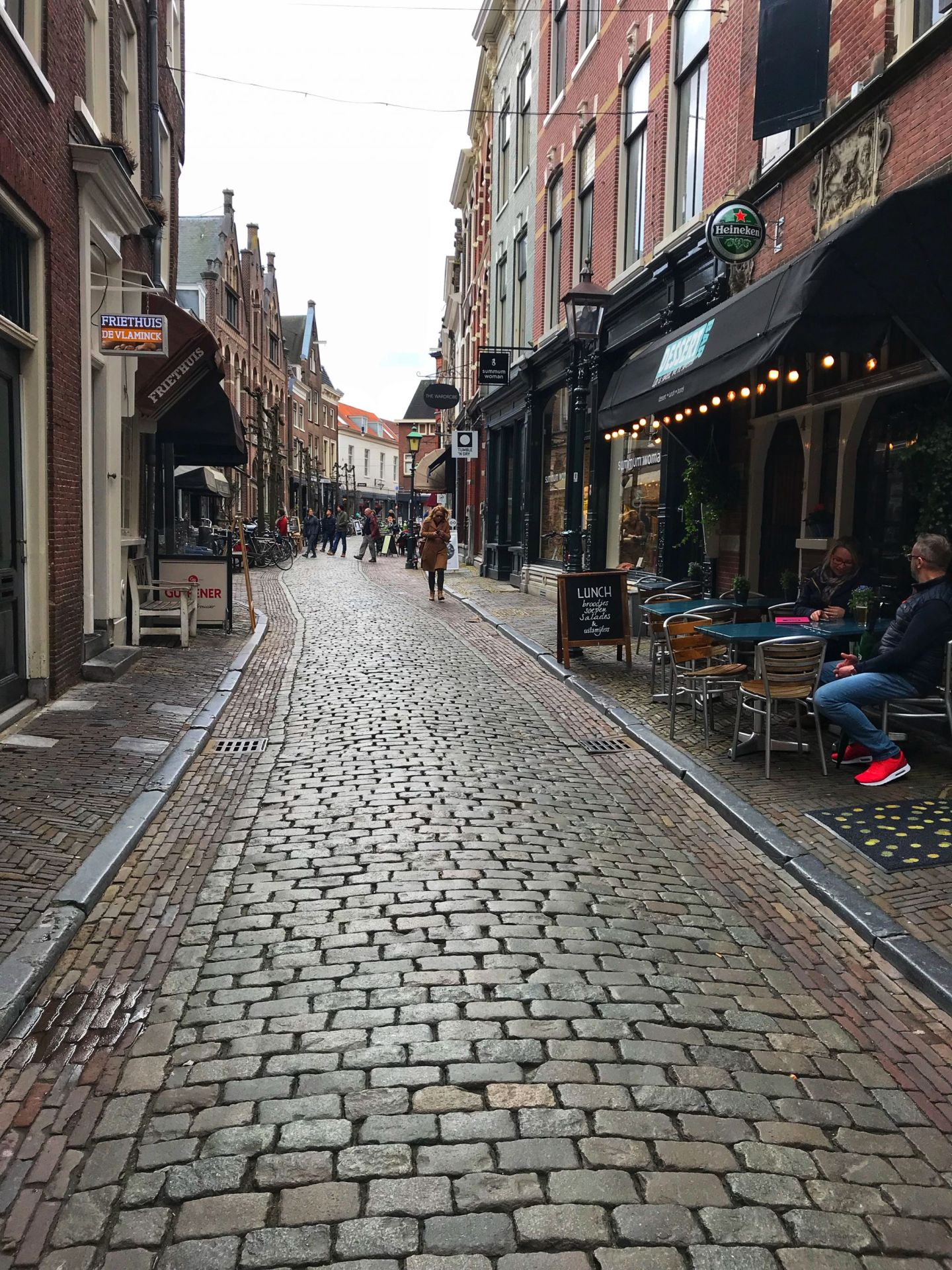 Cobbled Streets in Haarlem
