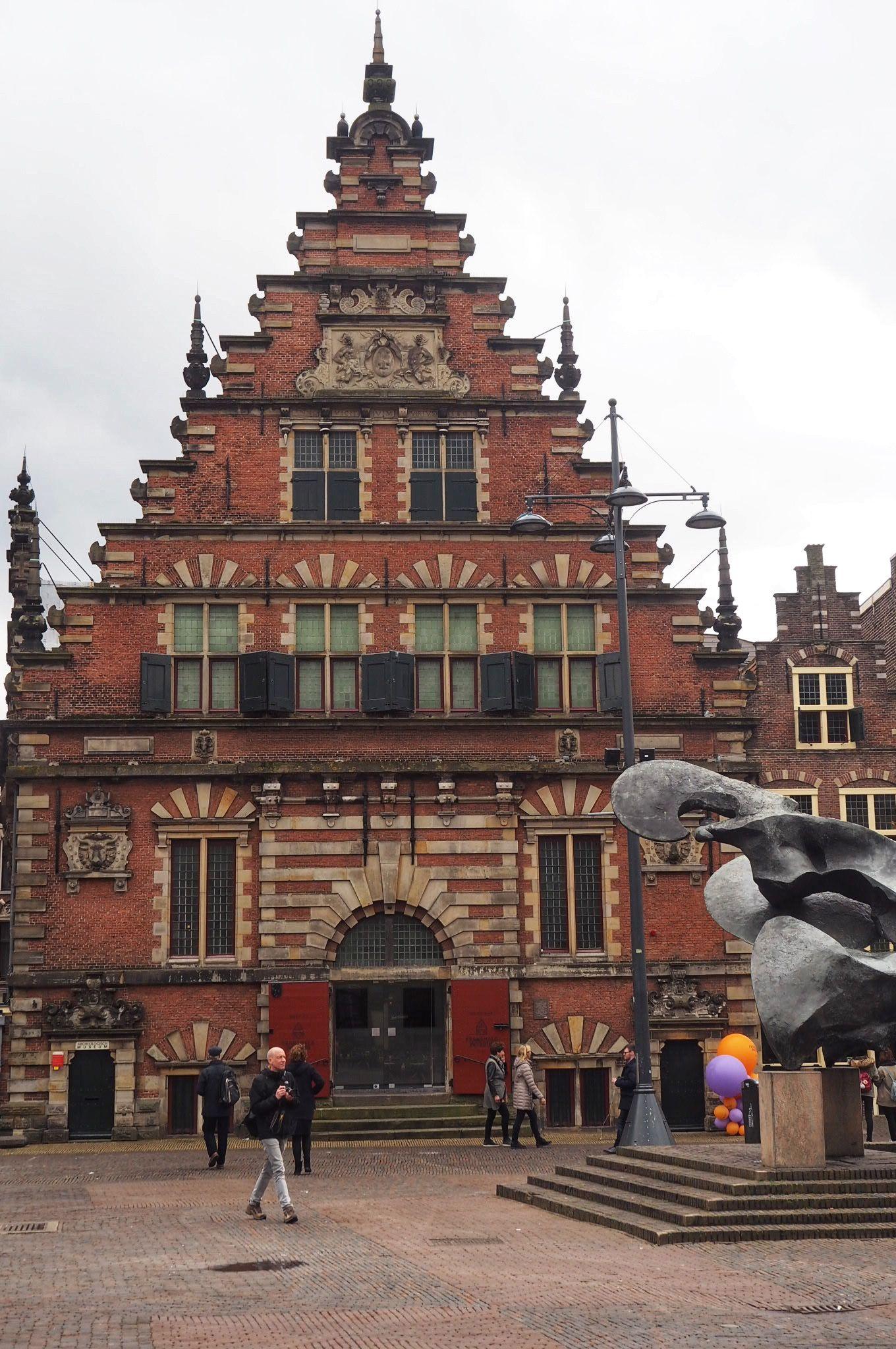 Vleeshal Building Haarlem