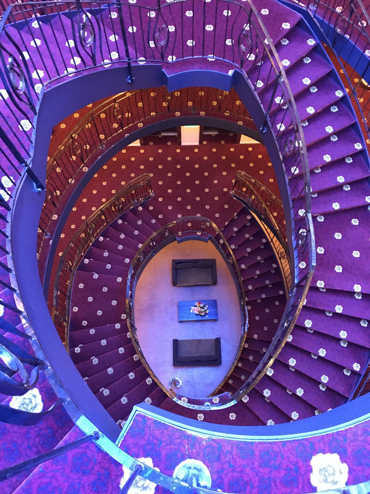 Winding Staircase Amrath Grand Hotel Frans Hals Haarlem