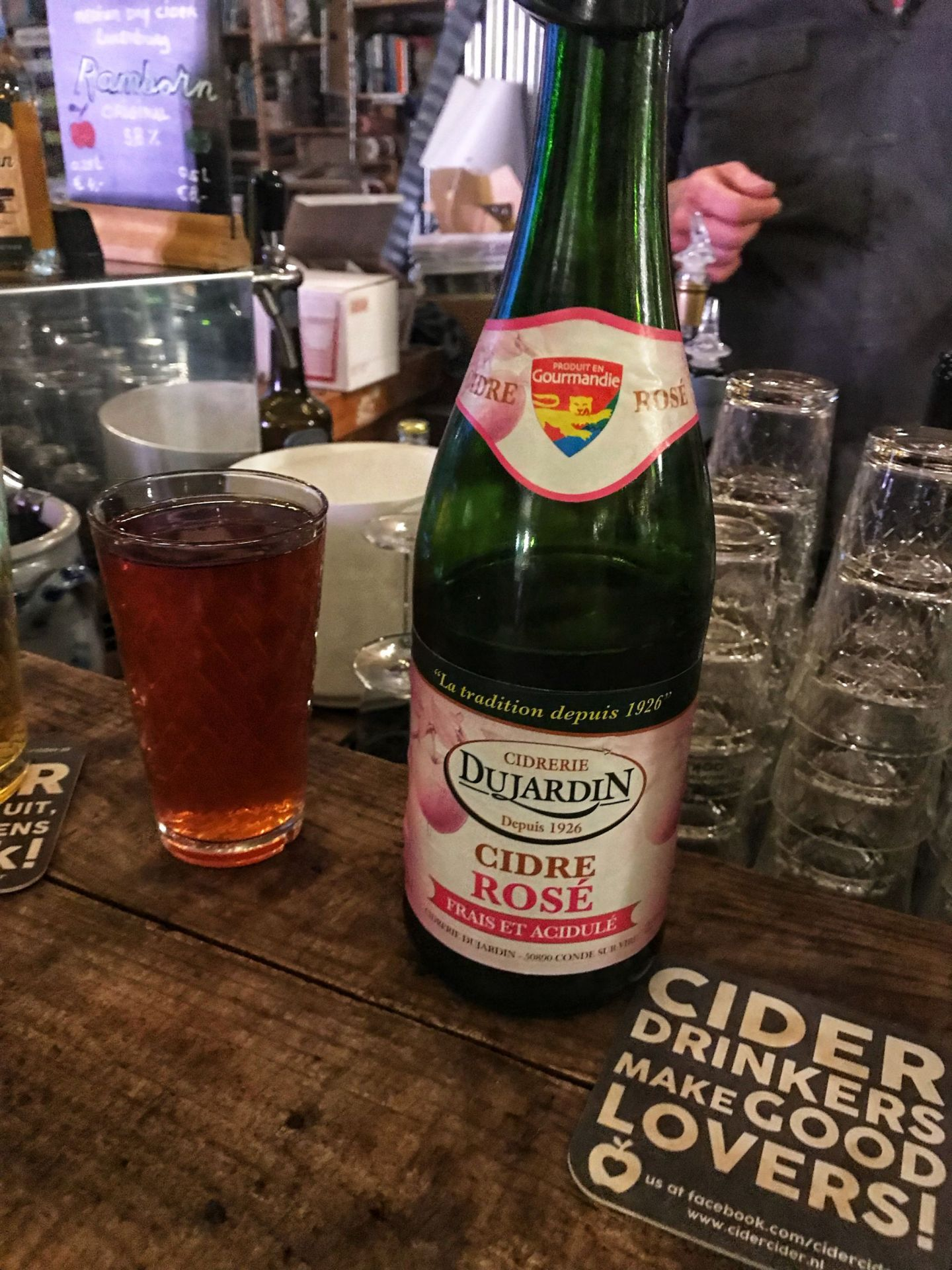 Cidre rose at Fenix Food Factory Rotterdam