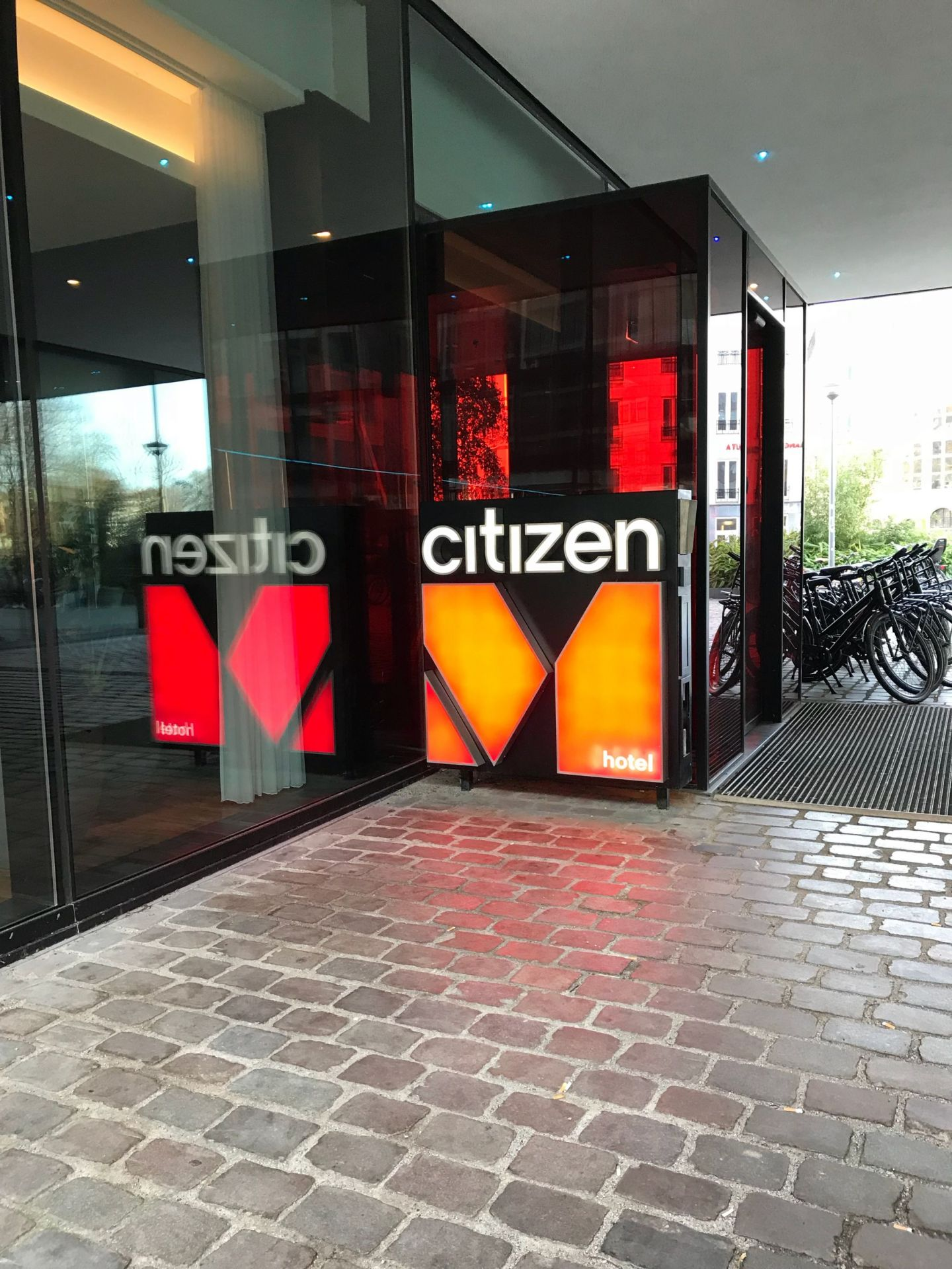 Rotterdam Citizen M Outside View