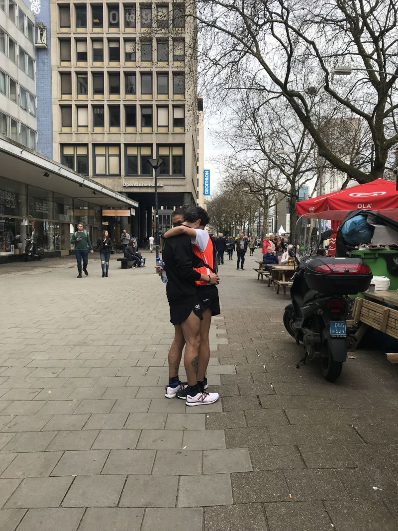 Love at Rotterdam Marathon