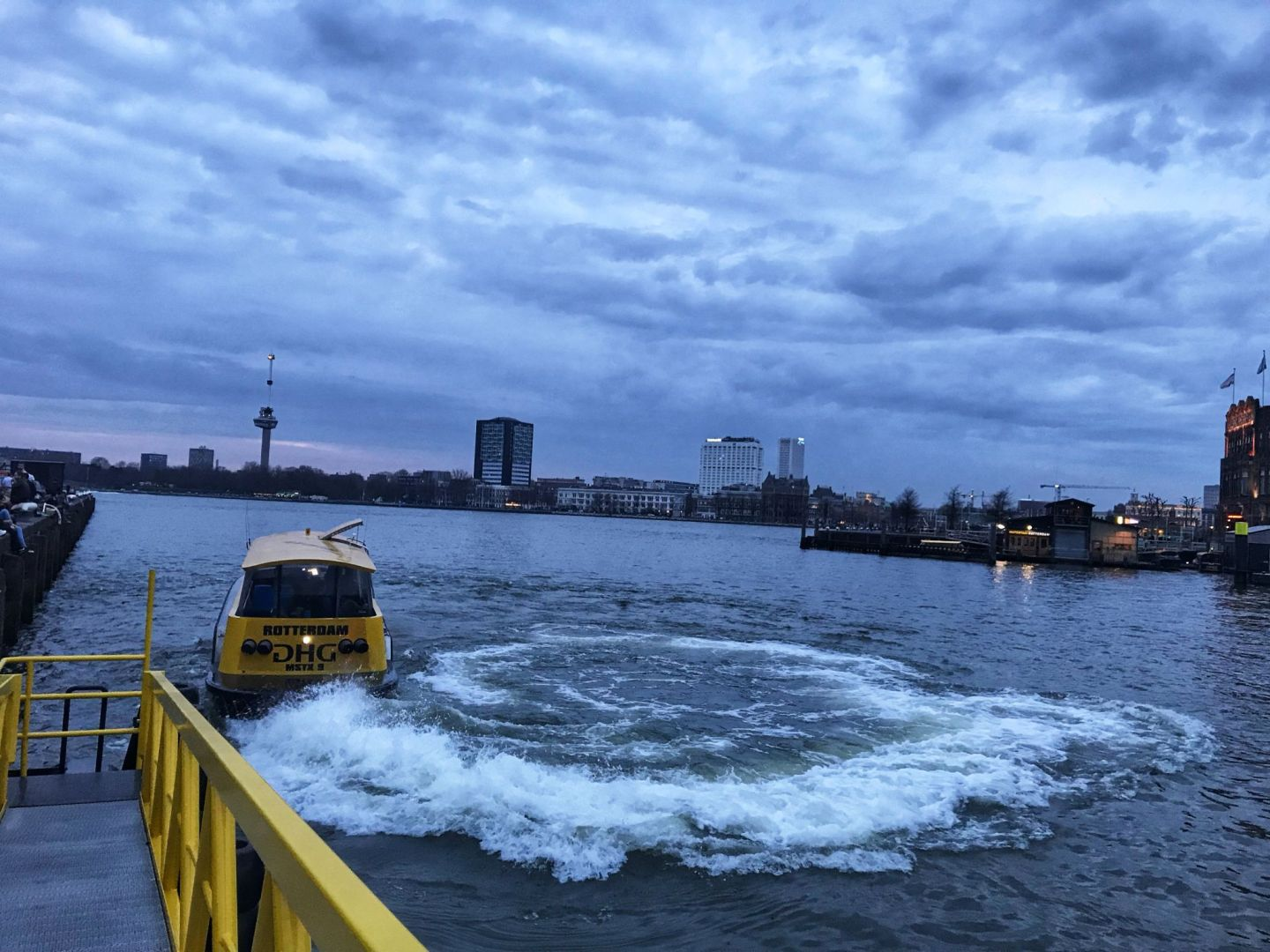 Watertaxi to Fenix Food Factory Rotterdam