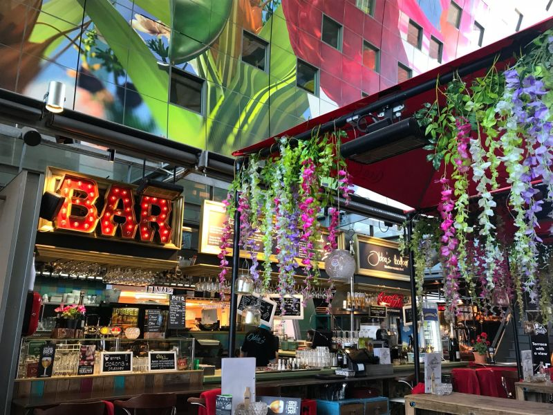pretty turkish restaurant Markthal Rotterdam