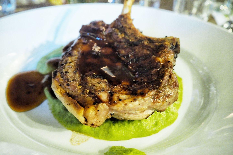 Grilled Pork Tomahawk 185 Watling Street Towcester