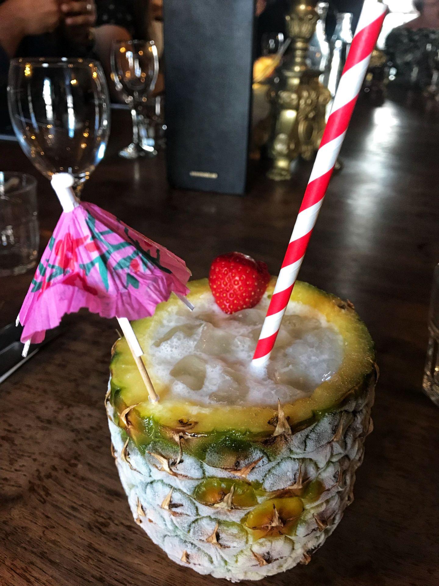 Pina Colada Cocktail Summer Menu 185 Watling Street