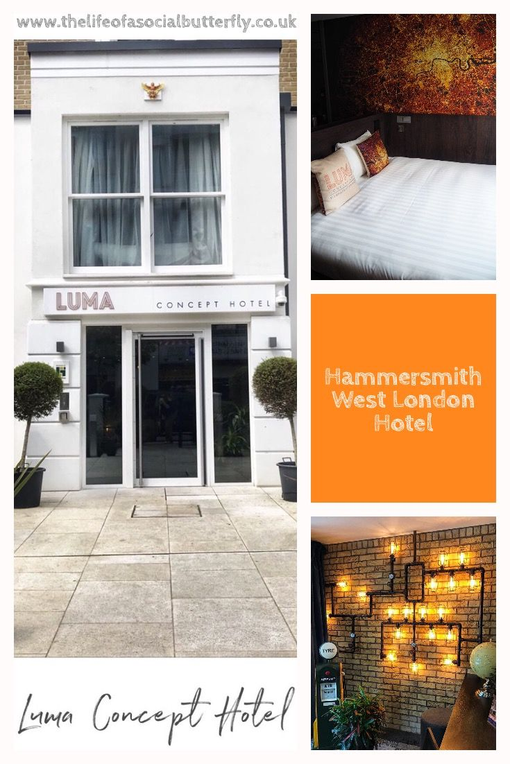 Luma Concept Hotel Hammersmith West London