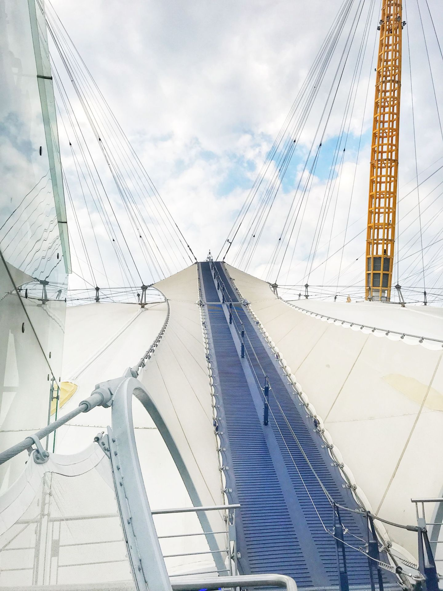 The hardest climb at up at the o2