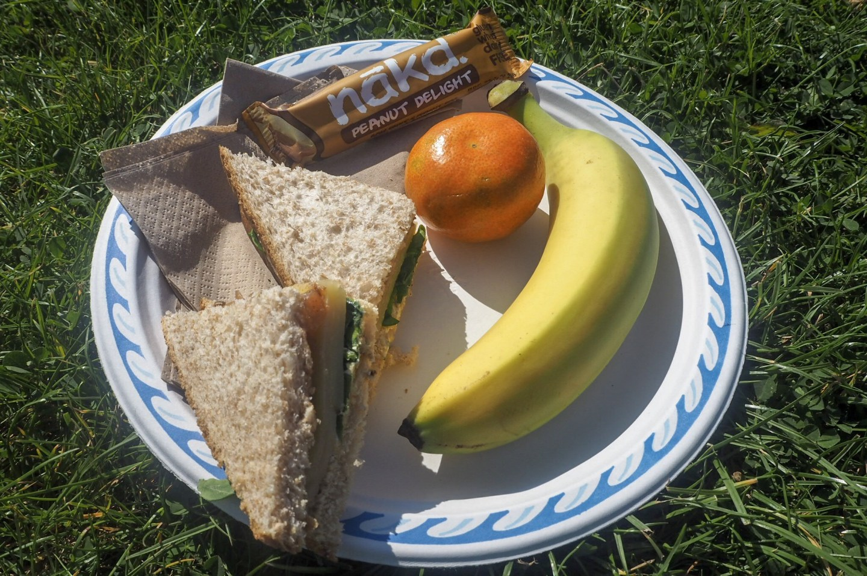 Yoga festival lunch
