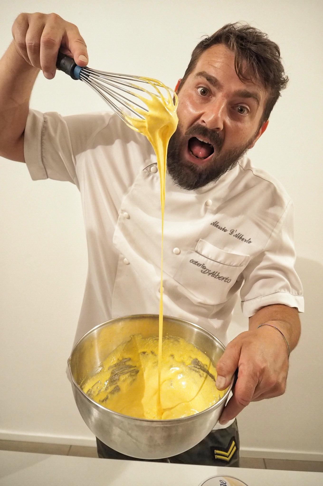 Italian Cooking Masterclass Maccagno with Alessio Chef Osteria D'Alberto Lake Maggiore