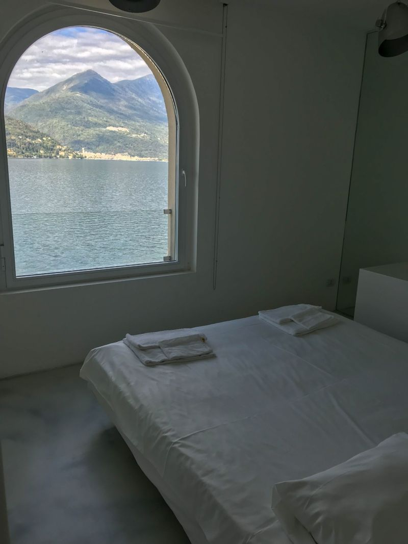 Lake and mountain views on holiday at golfo gabella resort lake maggiore
