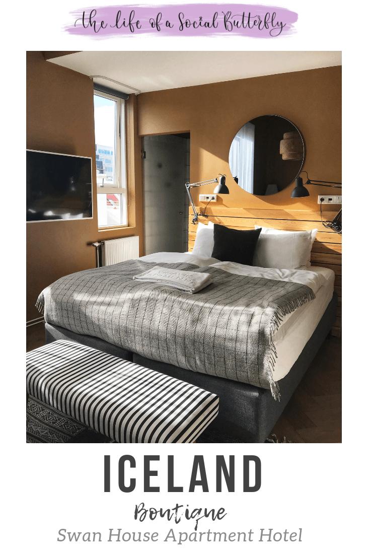 Pinterest Swan house apartment hotel Reykjavik Iceland