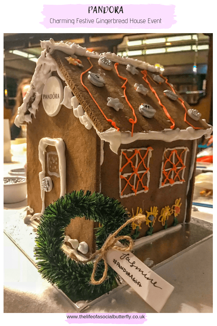 Pinterest Charming Festive Gingerbread House Event