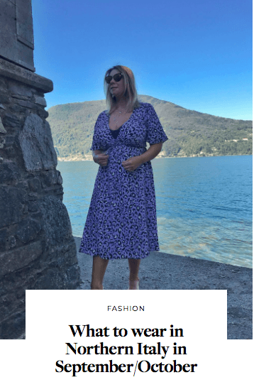 what to wear in Northern Italy in September October