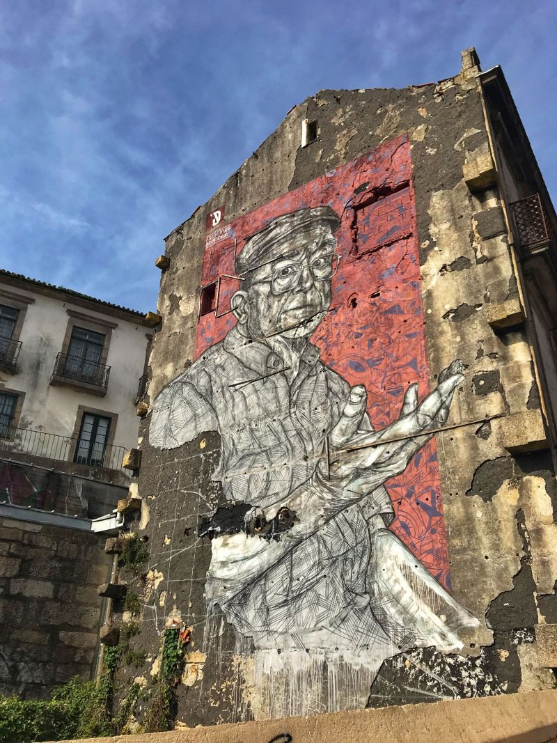 sophisticated Street art in Porto