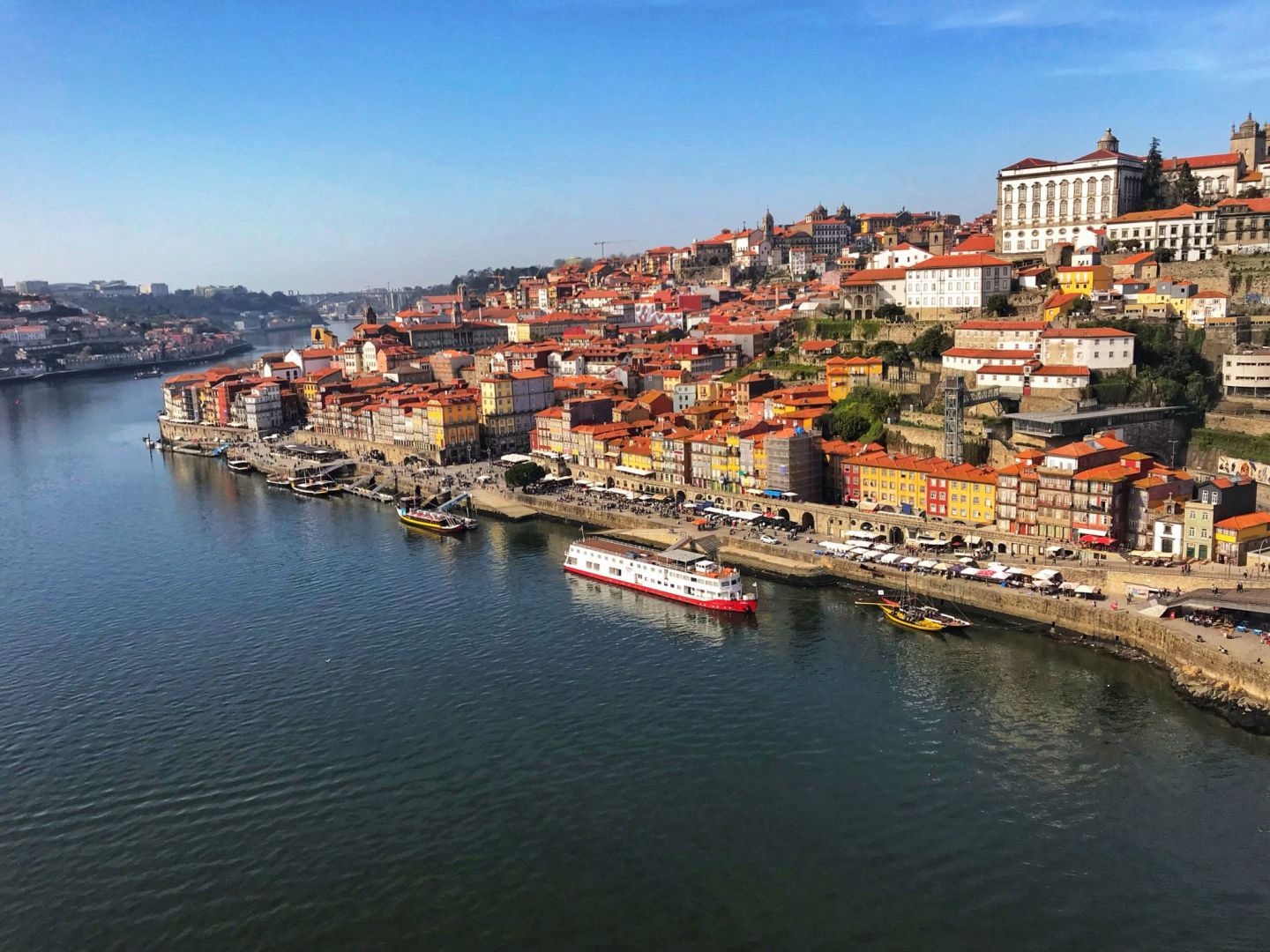 Porto itinerary Ribeiro District views