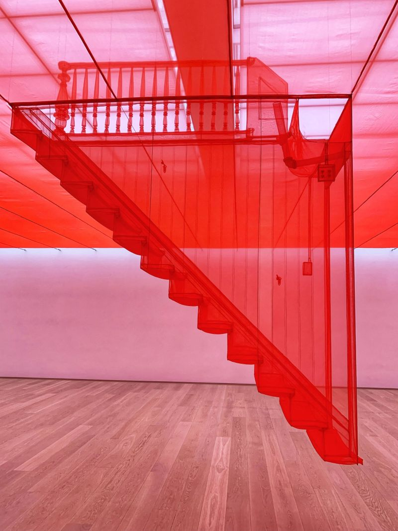 Do-Ho-Suh-stairs-almost-home-exhibition-Museum-Voorlinden