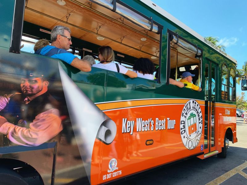 Key-West-Old-Town-Trolley-Tour-with-Gray-Line-Miami