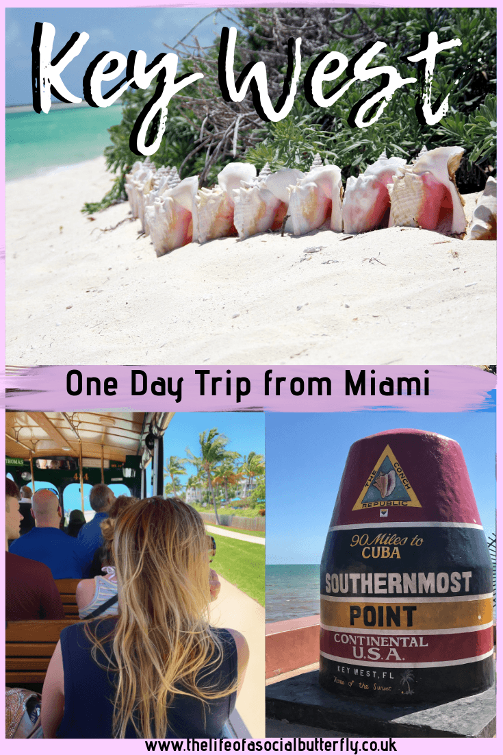 Key West day trip from Miami -Ultimate Key West itinerary, from getting to Key West, to excursions & tours for fun things to do in Key West in a day! #DaytriptoKeyWest #miamidaytrip #keywest #keywesttour #florida
