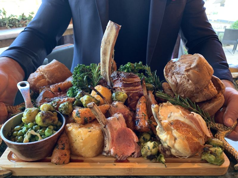 Nonnas-woburn-sands-review-mega-roast-Milton-Keynes