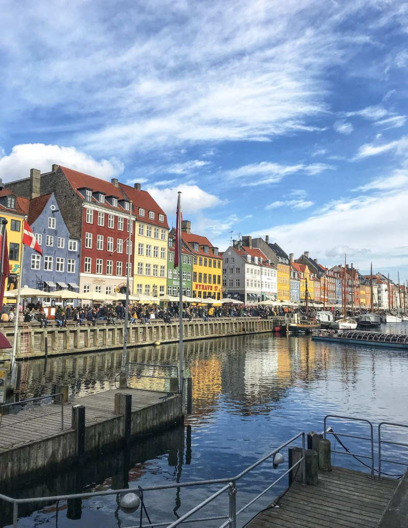 Reflection-on-water-Nyhavn-Copenhapen-in-One-Day-