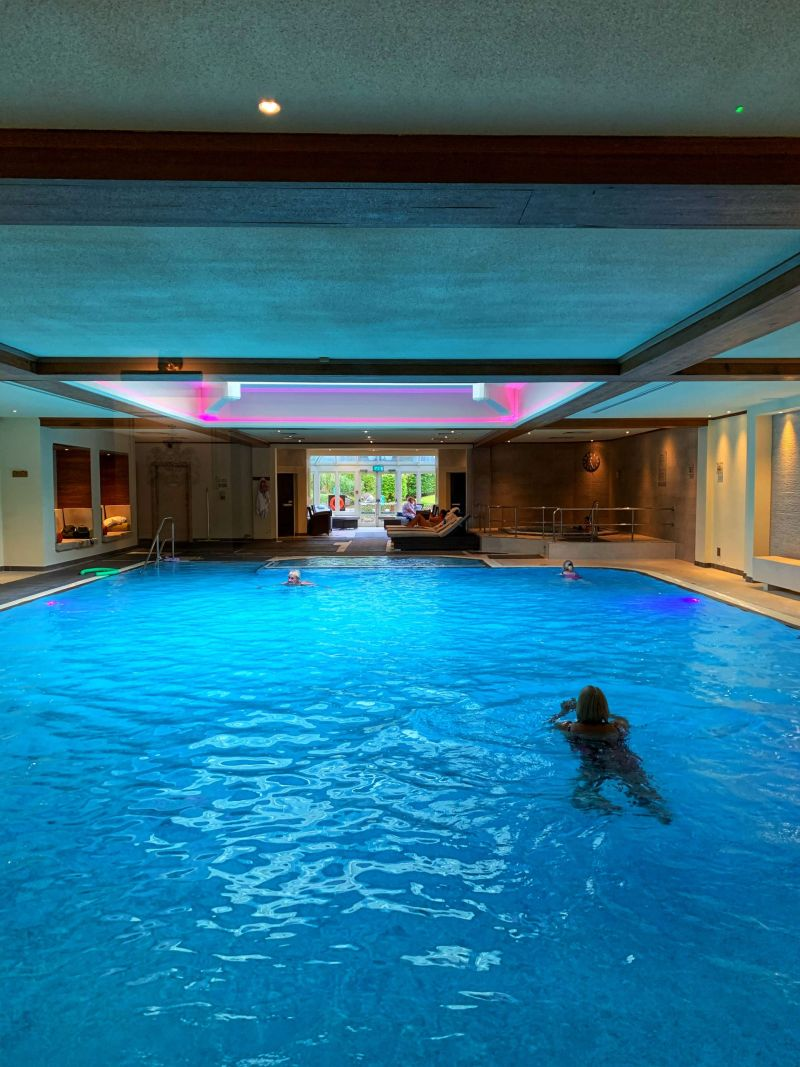 Spa pool Kettering Park Hotel benefits of an autumn spa break