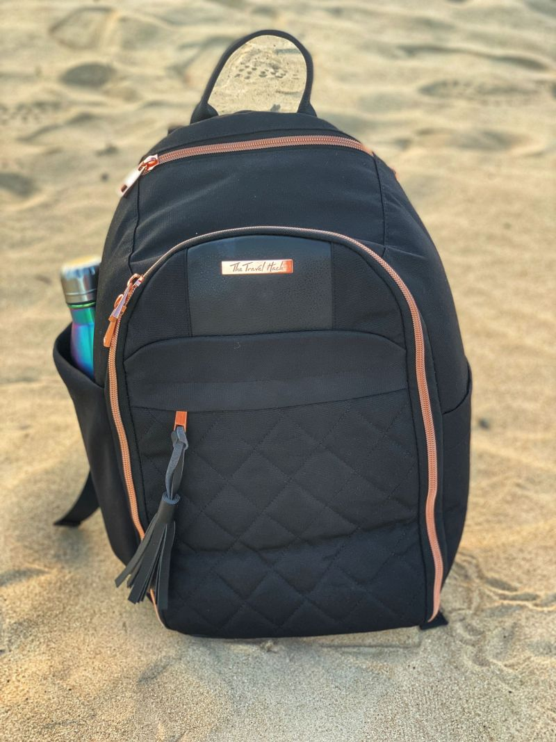 The Travel Hack Backpack Review - A New Stylish Backpack for Travel Ladies