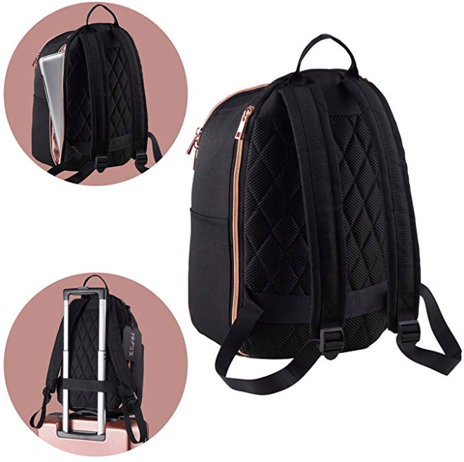 The Travel Hack Backpack Review - Best Travel Backpack with Laptop Compartment (Amazon Image)