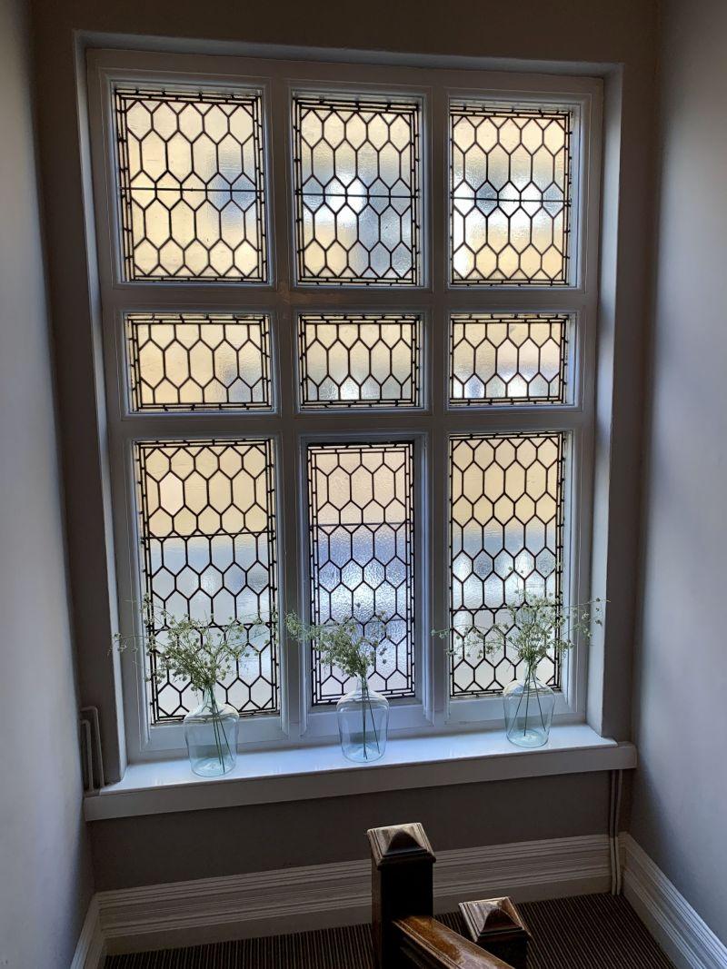 Victorian Windows The Embankment Hotel Bedford England