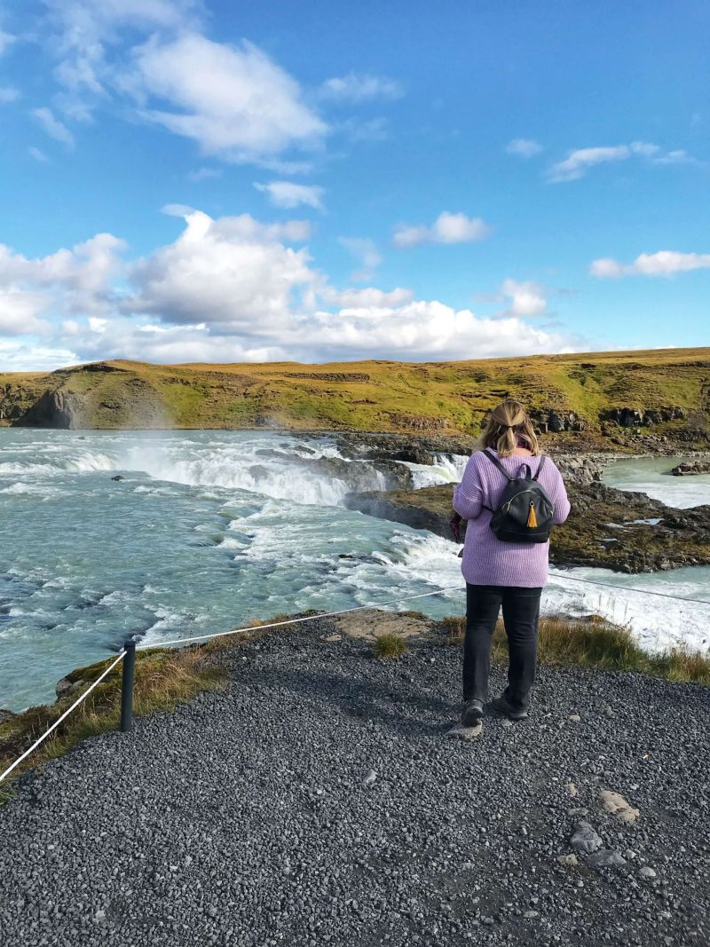 Admiring the beauty of Iceland in Autumn - Iceland in September