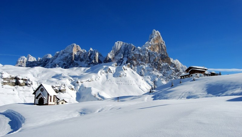 Go skiing in the Dolomites - Italy travel destinations