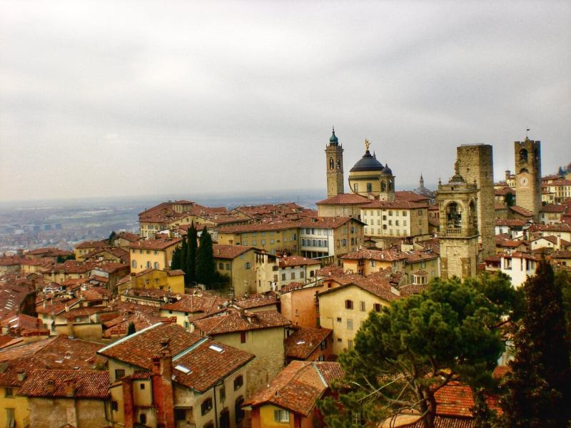 Visit Bergamo Old Town - Northern Italy bucket list destination