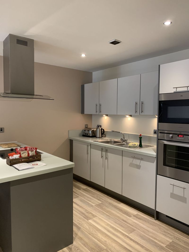 Kitchen-The-Sands-Apartments-Scarborough-North-Bay