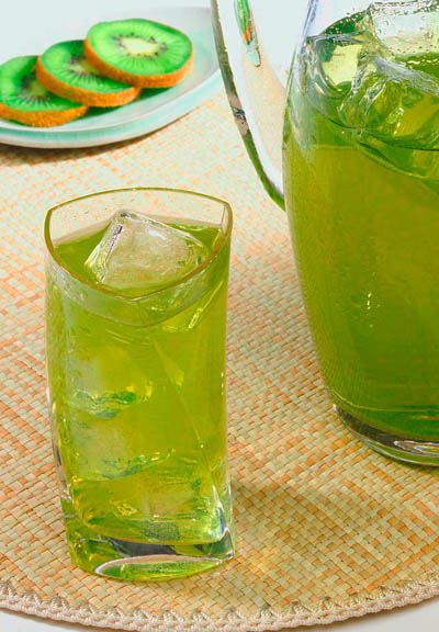 Ito En Green Tea glass
