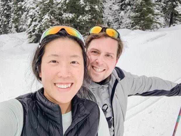 Cross-Country Skiing at Telemark Nordic Club, Kelowna