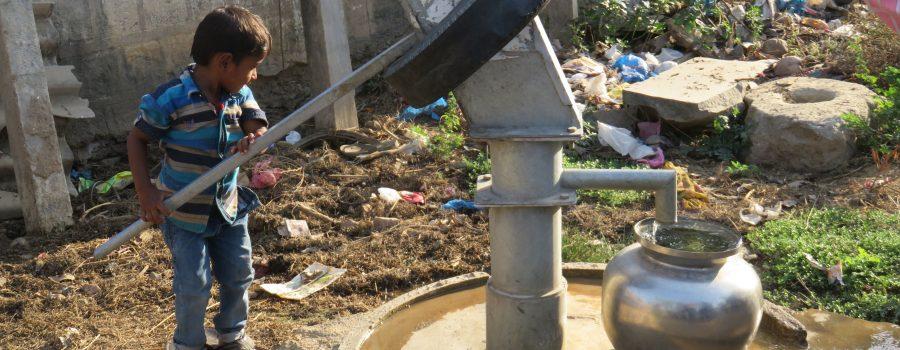 S2-Brunnen mit sauberem Wasser